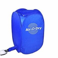 Spesifikasi Air O Dry Portable Electric Clothes Dryer Pengering Pakaian Lengkap