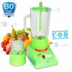 Airlux Electric Blender Glass Jar BT-X Low Watt with Grinder 1000 ML - Hijau