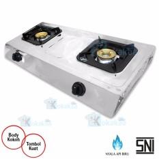 Airlux Kompor Gas 2Tungku GC-2202Sx Stainless - Silver