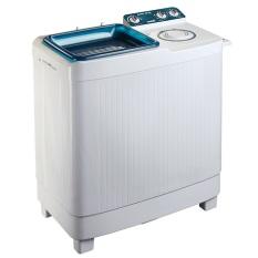 Akari Mesin Cuci 2 Tabung AWM-108K - Putih - Khusus Jabodetabek