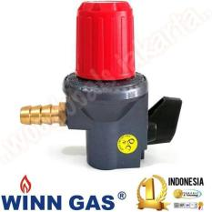 Alat Dapur Regulator Kompor High Pressure Winn Gas Hp W.181-Nm Ori Sni