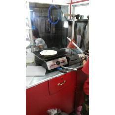 Alat Dapur Wajan Roti Bakar- Kebab- Burger- Wajan Grill Flat Datar- Burner Kebab