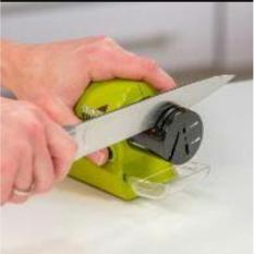 Alat Pengasah / Asahan Pisau Elektrik Otomatis - Original Swifty Sharp Terbaru