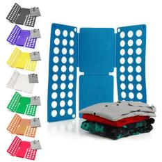 Alat Pintar Lipat Baju Dewasa - Alat Bantu Ibu Rumah Tangga Untuk Merapikan Baju Clothes Folder Organizer Flipfold Magical Clothes Folding Board Laundry - Warna Random