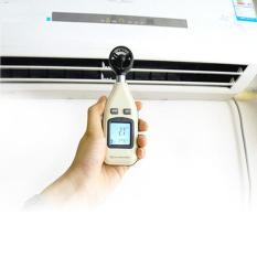 Alat Ukur Kekuatan Angin Meter, Km, ft, Knots, mph + Suhu Temperature