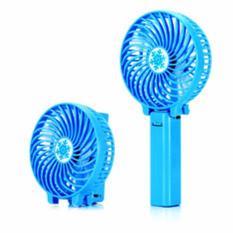 ANGEL Handy Mini Fan Rechargeable Portable Kipas Lipat Mini - Blue