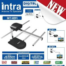 Antena TV Dalam Digital INTRA INT-HD14 Best FOR LCD & LED TV