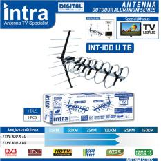 Antena TV Outdoor Digital INTRA INT-100U TG Best FOR LCD & LED TV