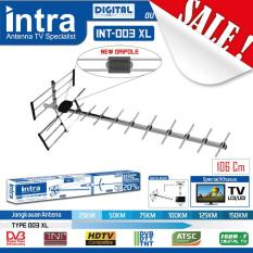 Antena TV Outdoor INTRA INT-003XL Best FOR LCD & LED TV