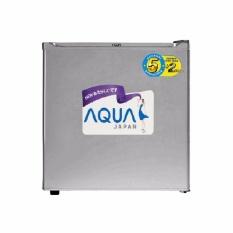 Aqua AQR D50F Aqua Kulkas Portable (Silver)- Khusus Jakarta & Bekasi Kota