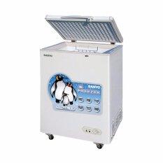 Aqua Chest Freezer 100 Liter AQF 100W - KHUSUS JABODETABEK