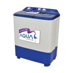 Aqua Mesin Cuci 2 Tabung QW-770XT - KHUSUS JABODETABEK
