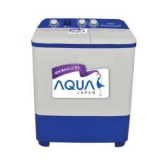 Aqua Mesin Cuci 2 Tabung QW-771XT - KHUSUS JABODETABEK