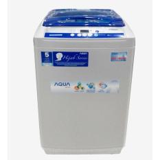 Aqua Mesin Cuci Top Loading AQW89XTFH – Putih + Biru – Khusus Jadetabek