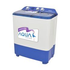 AQUA QW -770XT Mesin Cuci [Twin Tube] hanya Jadetabek