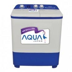 Aqua (Sanyo) Mesin Cuci Twin Tub 8kg QW871XT - Khusus JABODETABEK