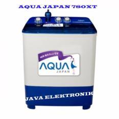 Aqua sanyo QW780-XT Mesin Cuci Dua Tabung garansi motor 5tahun