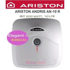 ARISTON ANDRIS AN-10 R, WATER-HEATER IRIT , LISTRIK HANYA 200 WATT. KAPASITAS 10 LITER