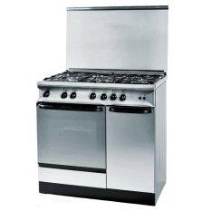 Ariston - Kompor Freestanding Cooker - NEW VENEZIA C95G1 - 5 Tungku - Stainless - Khusus Jabodetabek