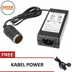 ASLB Car Lighter Power Supply AC to DC 220V To 12V 5A Power Adapter Auto Converter for Car Vacuum C