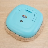 Review Otomatis Microfiber Mop Robot Robotic Vacuum Cleaner Cleaning Sweeper Brush Blue Intl
