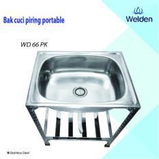 Bak Cuci Piring Welden 66PK Portable