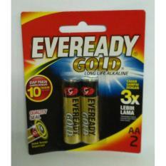 Baterai Aa Eveready Gold Alkaline (1 Set Isi 2 Pcs) - D3A93D