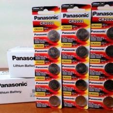 Batere Cmos Panasonic Cr2032 Original Baterei Cr-2032 Asli - D37edd