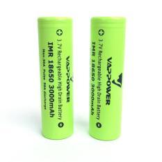 Baterry Baterai Batere Vappower 18650 Original 3000Mah (Bukan Lg Hg2) - Acdda9