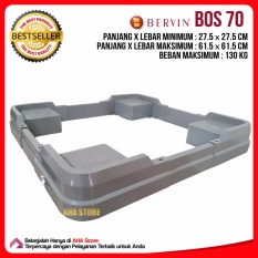 Bervin Kaki Kulkas & Mesin Cuci / Dudukan Kulkas & Mesin Cuci BOS 70 - grey