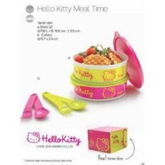 BEST PROMO KOTAK MAKAN TUPPERWARE HELLO KITTY - NEW EDITION