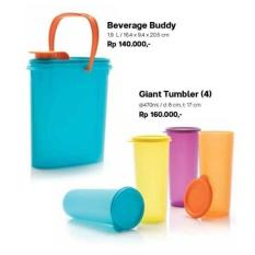 BEST PROMO TUPPERWARE BEVERAGE SET - PROMO MURAH DISC 48%