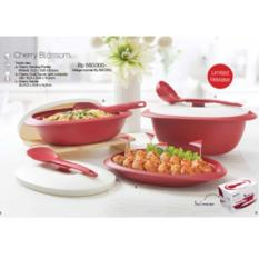 BEST PROMO TUPPERWARE CHERRY BLOSSOM COLLECTION PAKET KADO HADIAH CHERY