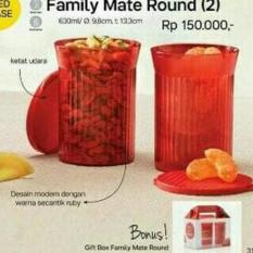 BEST PROMO TUPPERWARE FAMILY MATE ROUND WADAH TOPLES