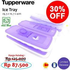 BEST PROMO TUPPERWARE ICE TRAY PENCETAK ES DI RUMAH BAHAN SILIKON RT012