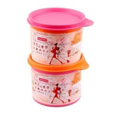 BEST PROMO TUPPERWARE MISS BELLE COMPACT CANISTER TOPLES KECIL LUCU