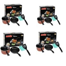 Best Seller - Maxim Venice Set Peralatan Masak - Paket 4 Unit
