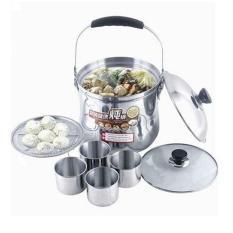 Best Seller Panci Masak Ajaib - Magic Cooker Energy Saving - Silver