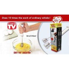 Ulasan Lengkap Tentang Better Beater Hand Mixer Otomatis 1 Set 2Pcs