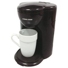 Jual Black Decker Coffee Maker Dcm25 B1 Black Satu Set
