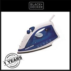 Black & Decker setrika uap AJ2000- Biru