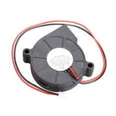 Hitam Brushless Dc Cooling Blower Fan 2 Kabel 5015 S 12 V 0.06a 50x15mm By Sportschannel.