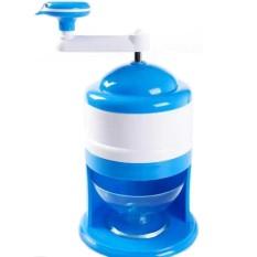 Blueidea Alat Serut Es Batu Portable Snow Cone Ice Machine - Biru