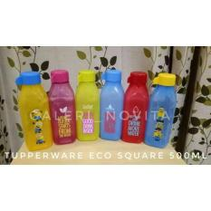Botol Tupperware Eco Bottle Square 500Ml Diskon Akhir Tahun