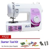 Beli Brother Gs 2500 Mesin Jahit Portable Putih Free Sjs Starter Kit Seken