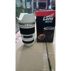 Canon Lens Mug Zoom Ef-S 28-135Mm Esf Termos B292 Kembang Gelas Camera - 636Ec6