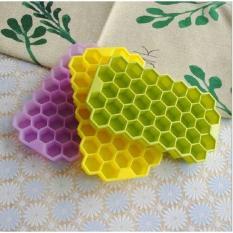 Cetakan Es Batu bentuk Honeycombs Fleksibel bahan Silikon