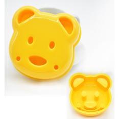 Cetakan Roti Motif Bisa Juga Buat Nasi Kepala Beruang / Bread Mold - Ac3d56