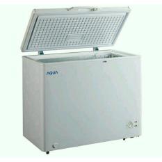 Chest Freezer Aqua Sanyo Aqf-300w Kapasitas 300l