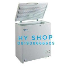 Chest Frezer Aqua Sanyo Aqf 100/ Freezer Aqua Gea Getra Uchida - 6Cc3ac